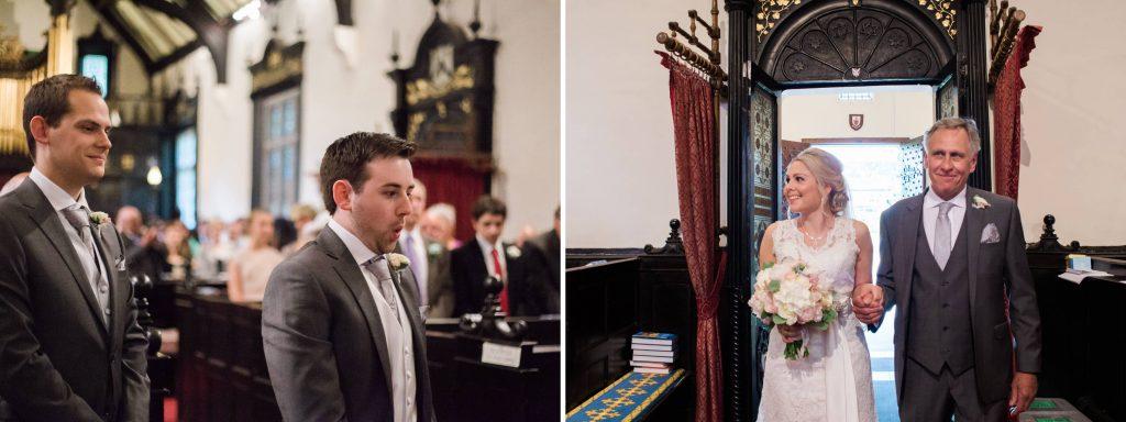 Christh Church Woodford ceremony in Cheshire - Brighton wedding photographer