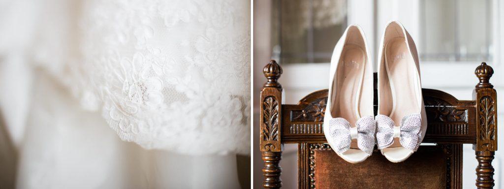 Brighton wedding photographer dress and shoe details
