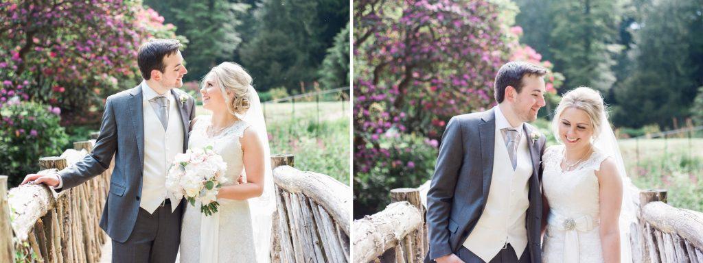 Quarry Bank Mill gardens for wedding portraits - Brighton wedding photographer