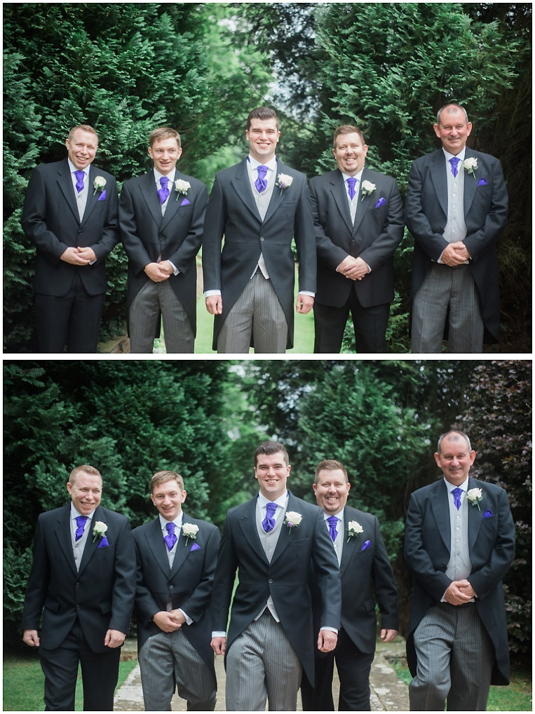Best man and usher formals | New Place De Vere | Brigthon Wedding Photographer