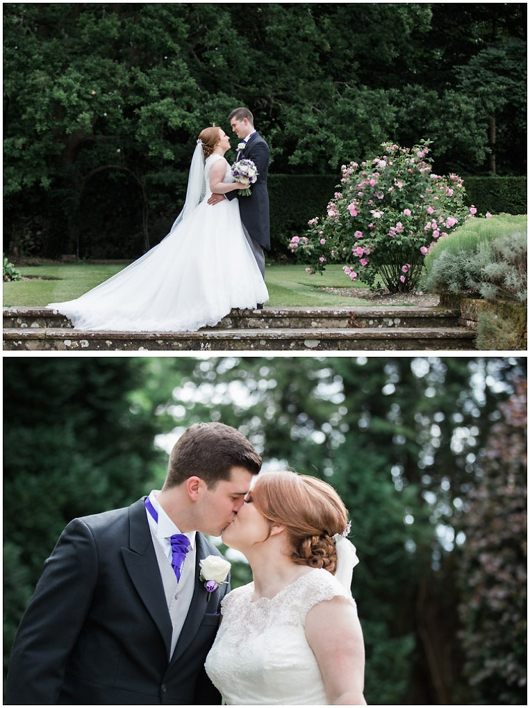 Romantic bride and groom Portraits | New Place De Vere, Southampton | Brighton Wedding Photographer