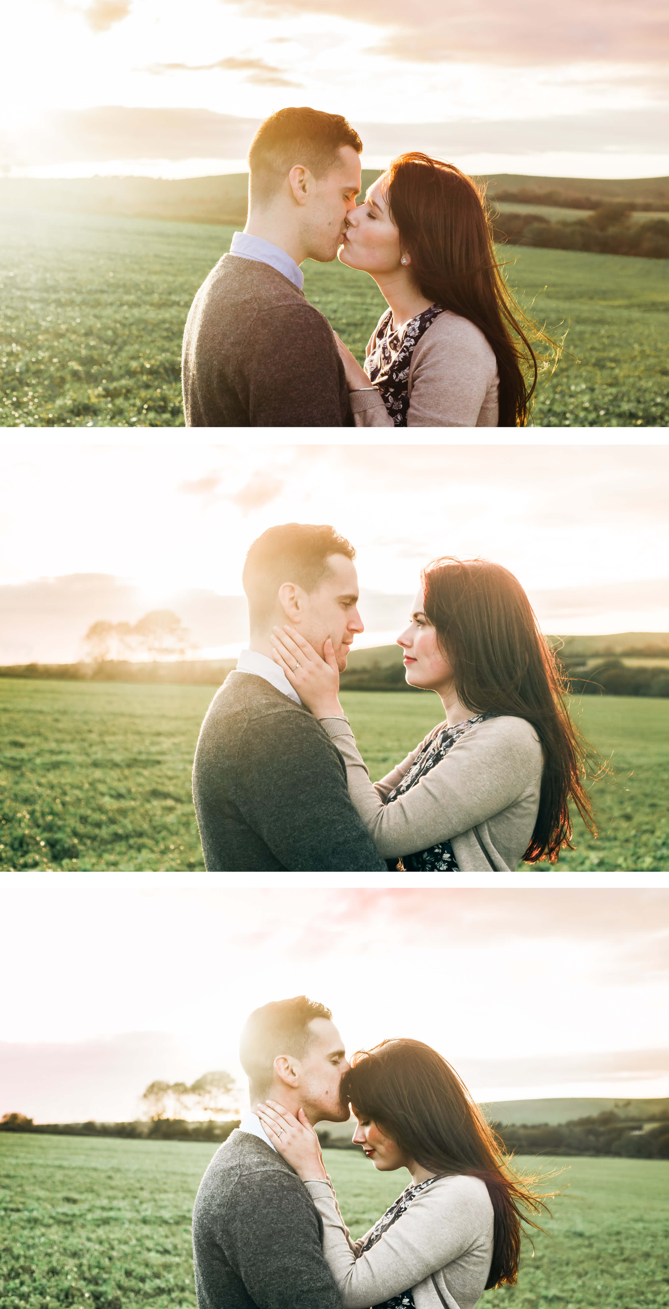 Brighton Engagement Photographer _ South Downs Engagement Photography in West Sussex