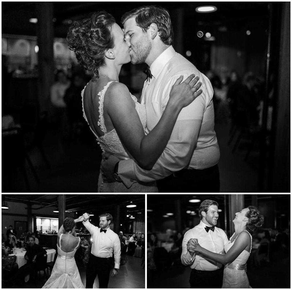 Schlafly Tap Room Wedding Reception First Dance - Brighton International Wedding Photographer (1)