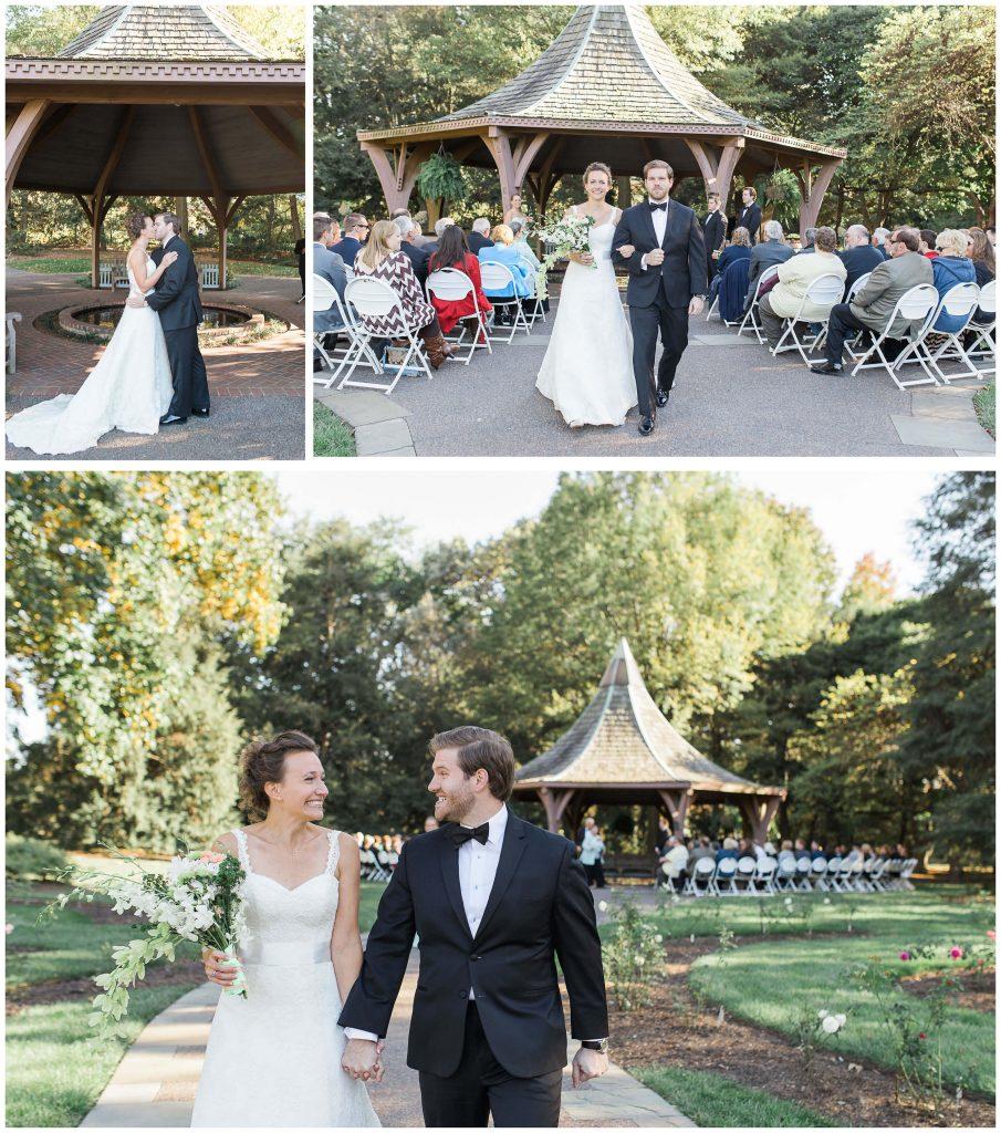 St. Louis Botanical Gardens Wedding Ceremony - Brighton International Photographer