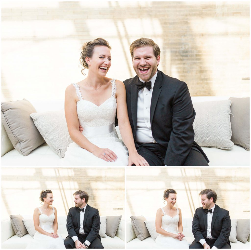 St. Louis Union Station Bridal Couple Wedding Portraits - Brighton Wedding Photographer (1)