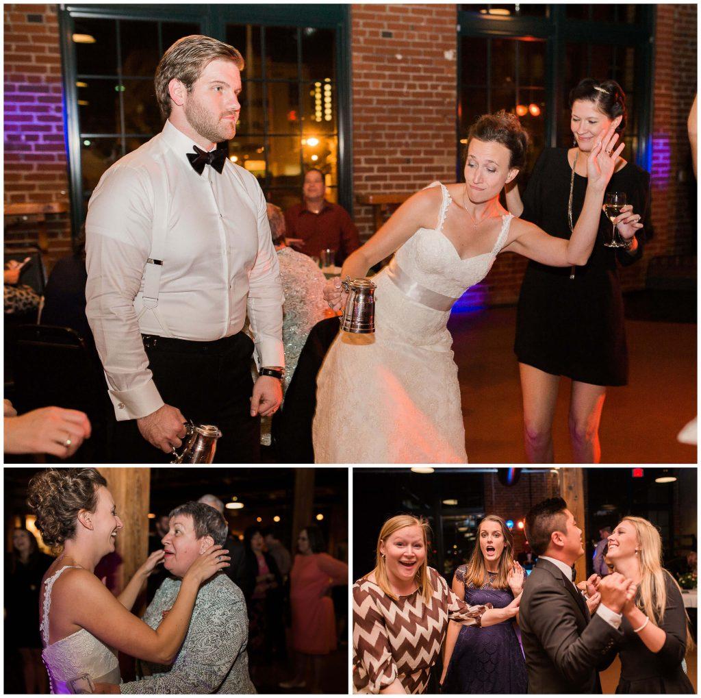 Wedding Reception at Schafly Tap Room - Brighton International Photographer