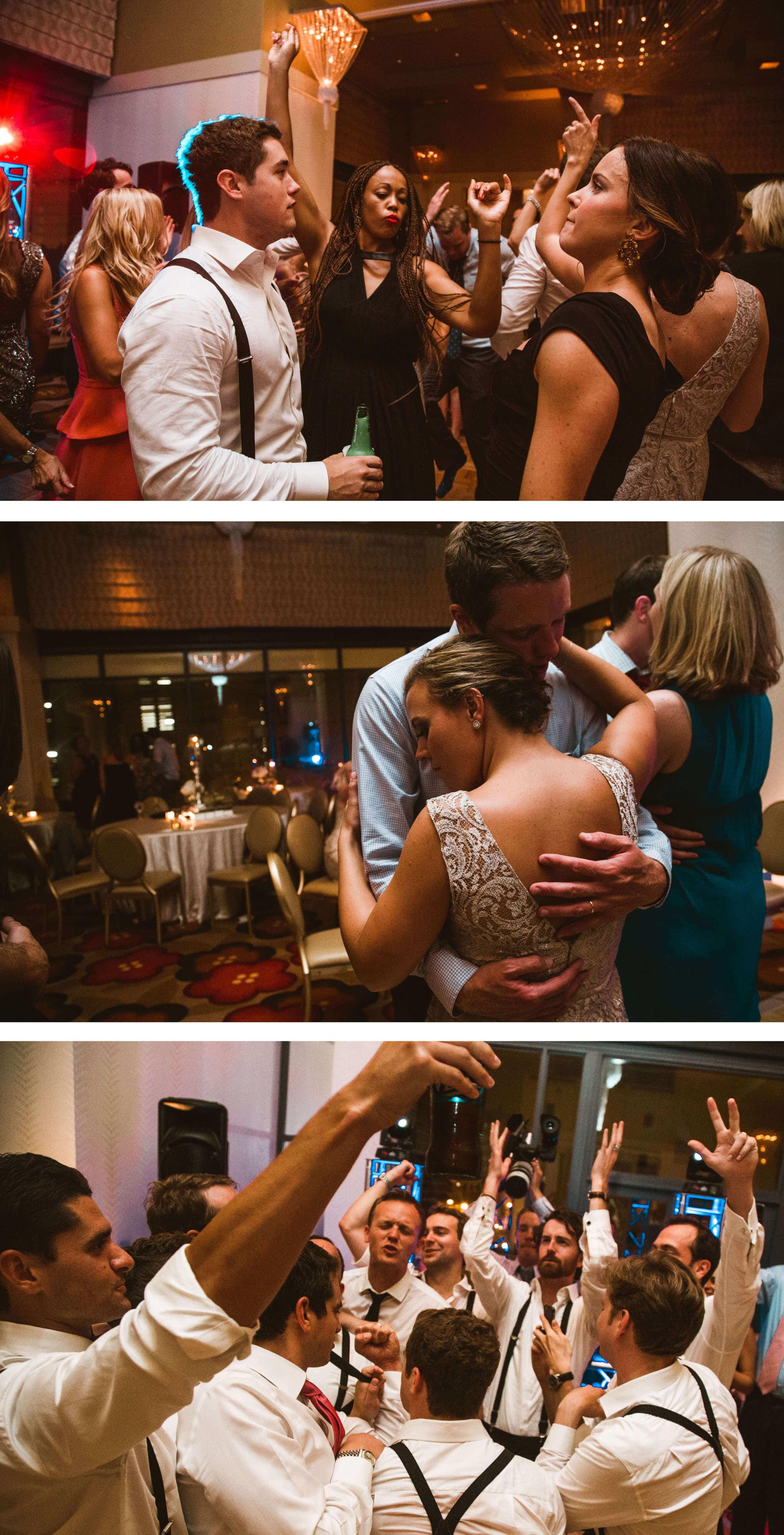 Kimpton Hotel Palomar wedding reception - Sussex Photographer