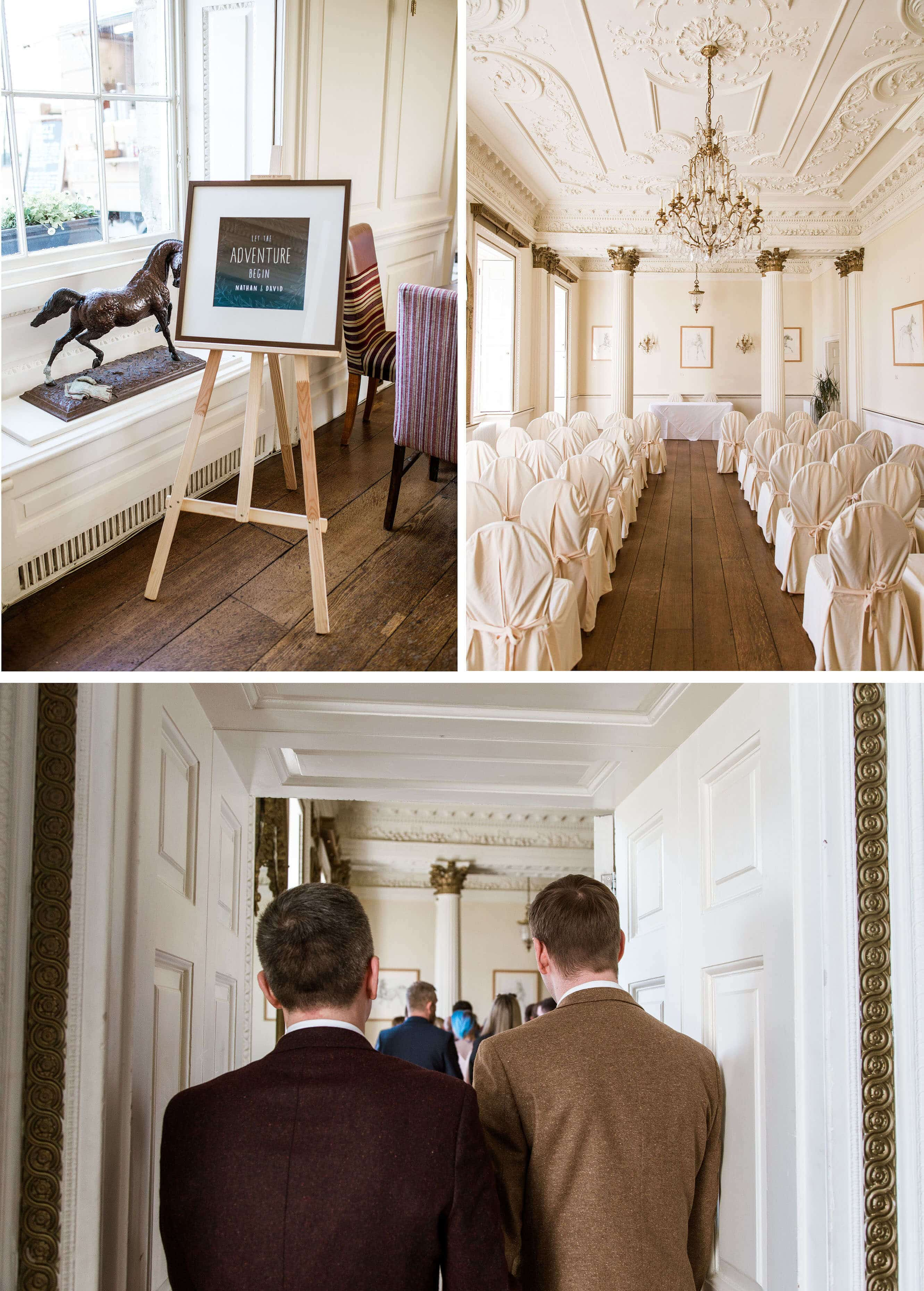 Proud House Wedding Ceremony at Stamner House Wedding Photography