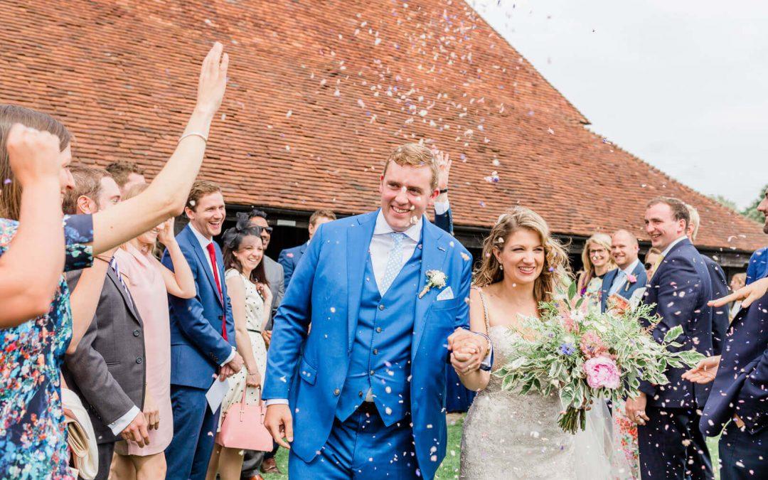 Summer wedding at Michelham Priory's Barn in Hailsham | East Sussex Wedding Photographer
