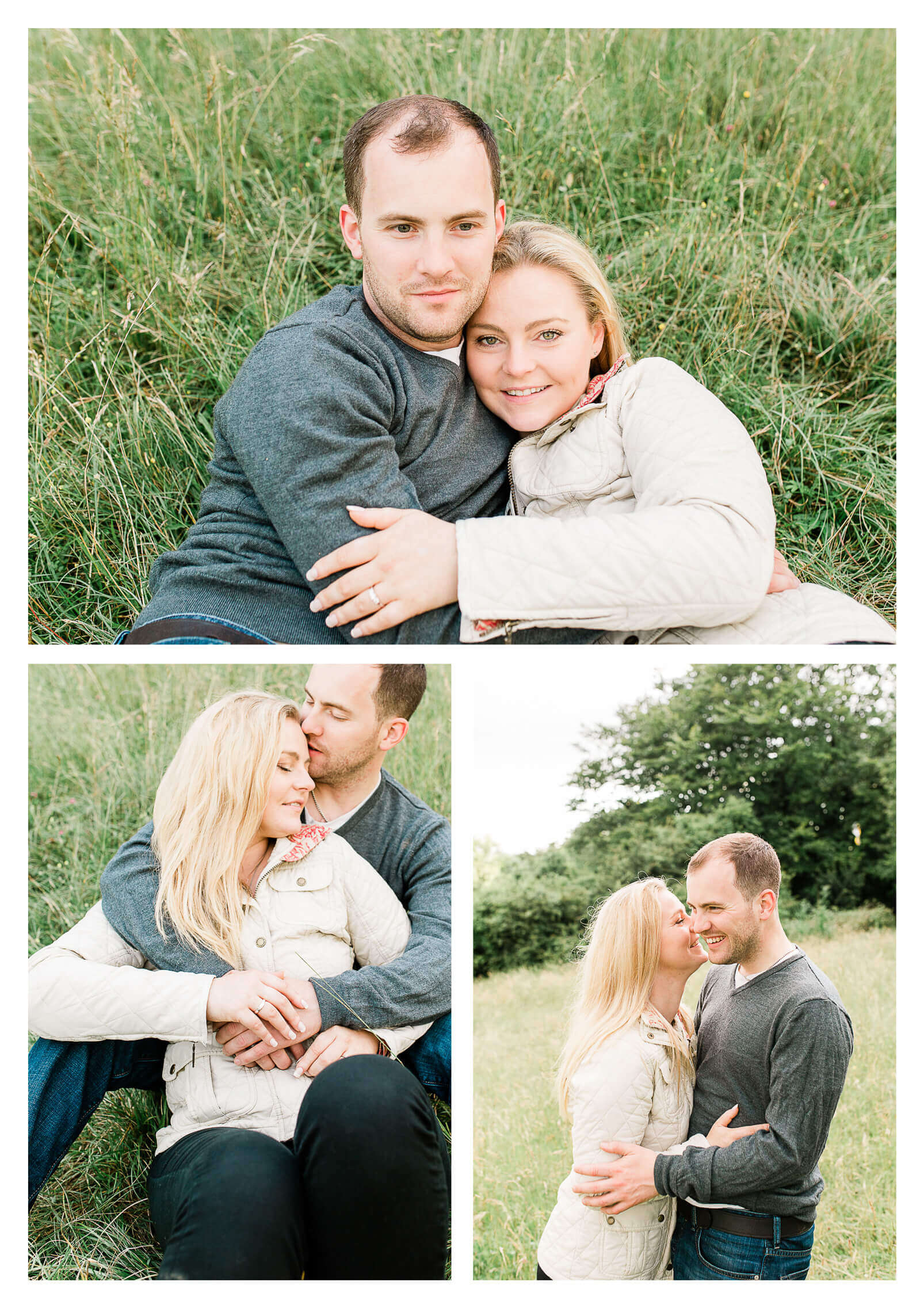 Box Hill North Downs Engagement Shoot | Surrey pre-wedding photographer