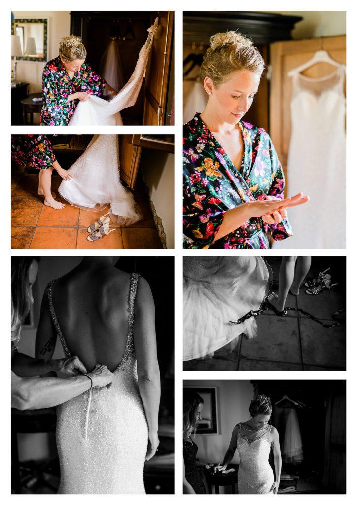 Bride getting ready at Fossa Mala in Italy | Pordenone destination photographer