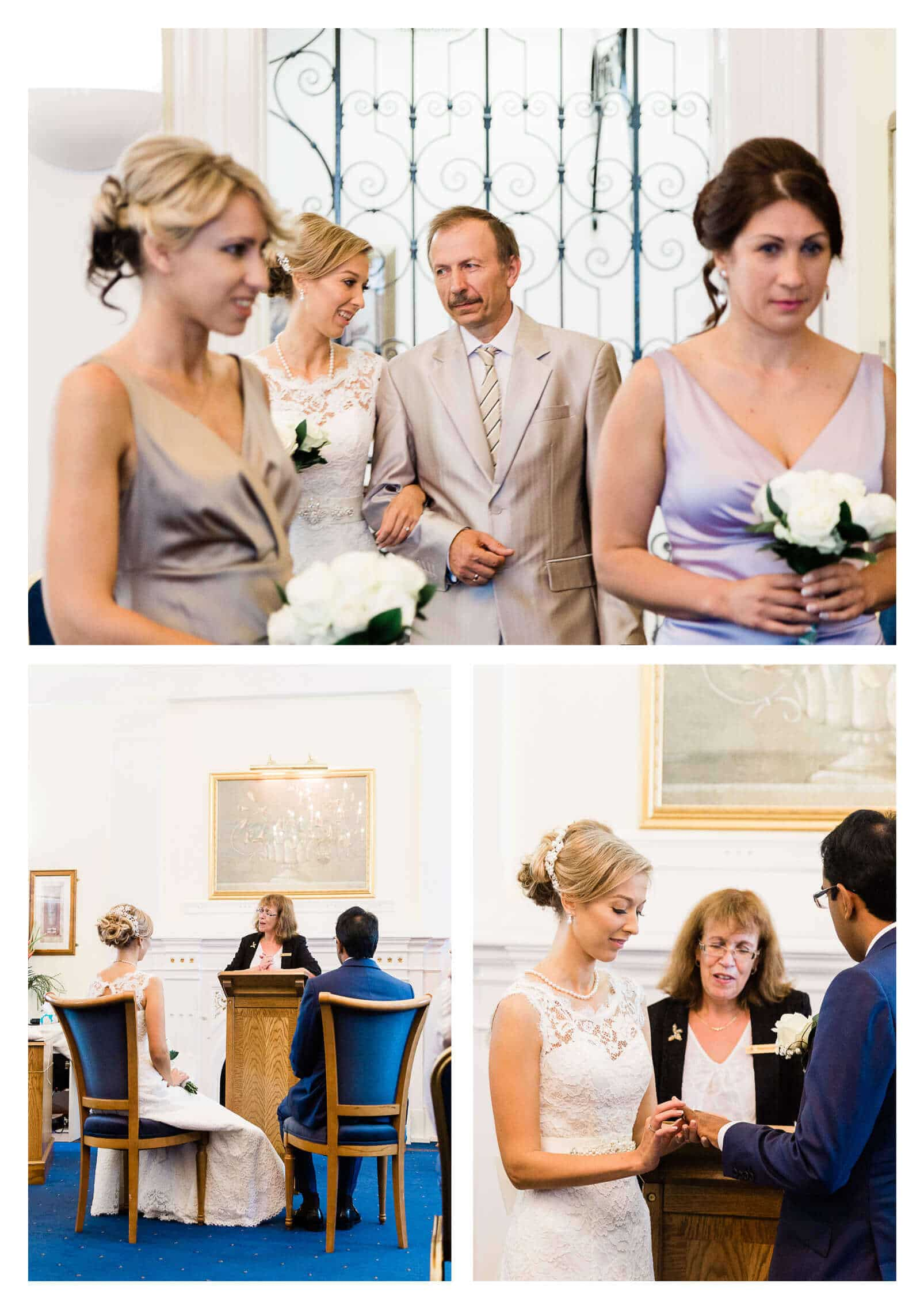 Bromley Public Hall registry wedding ceremony | London photographer