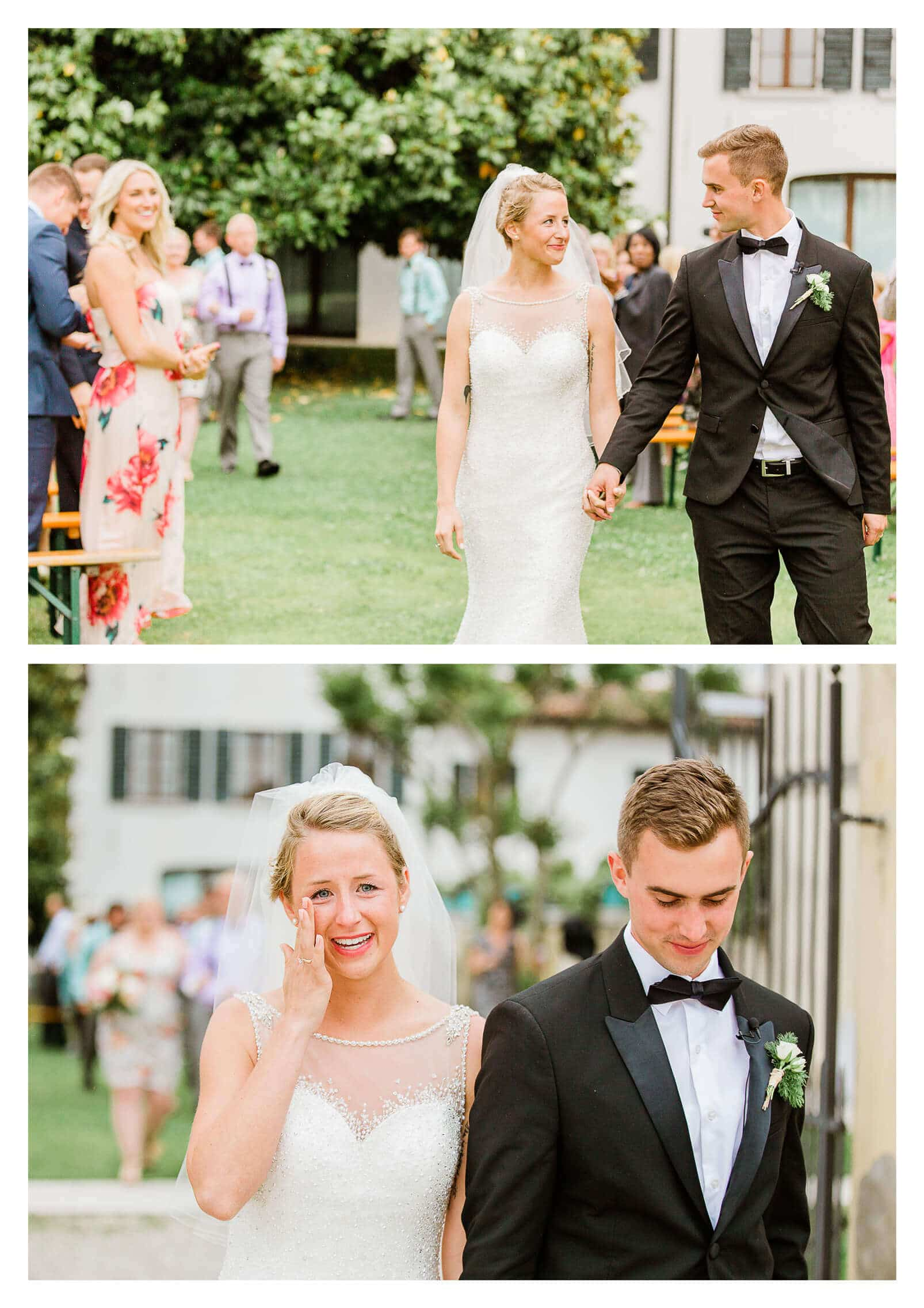 Emotional wedding ceremony at Fossa Mala in Pordenone | Italy destination photographer