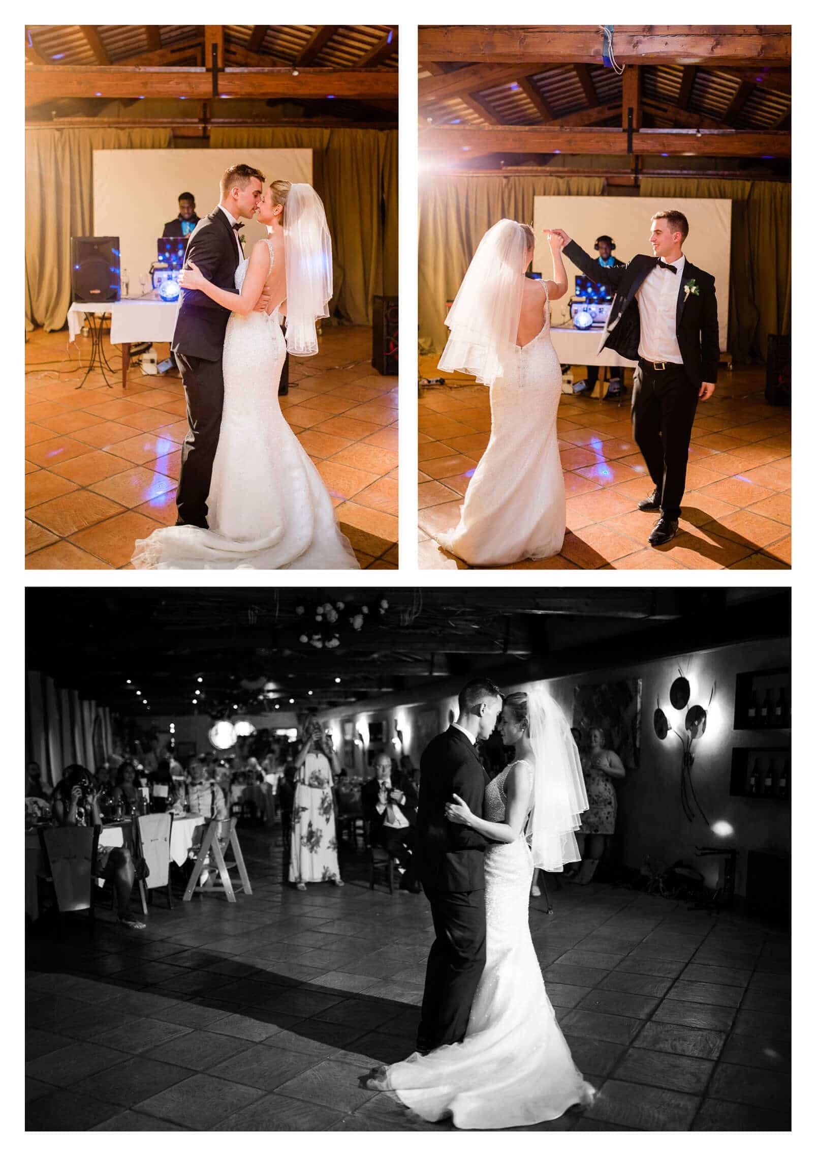 First dance Fossa Mala vineyard wedding venue | Pordenone Destination photographer