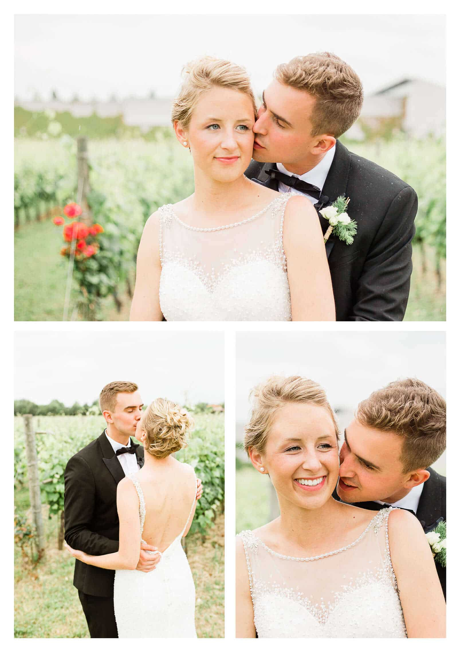 Fossa Mala wedding couple portraits in vineyard | Italy photographer