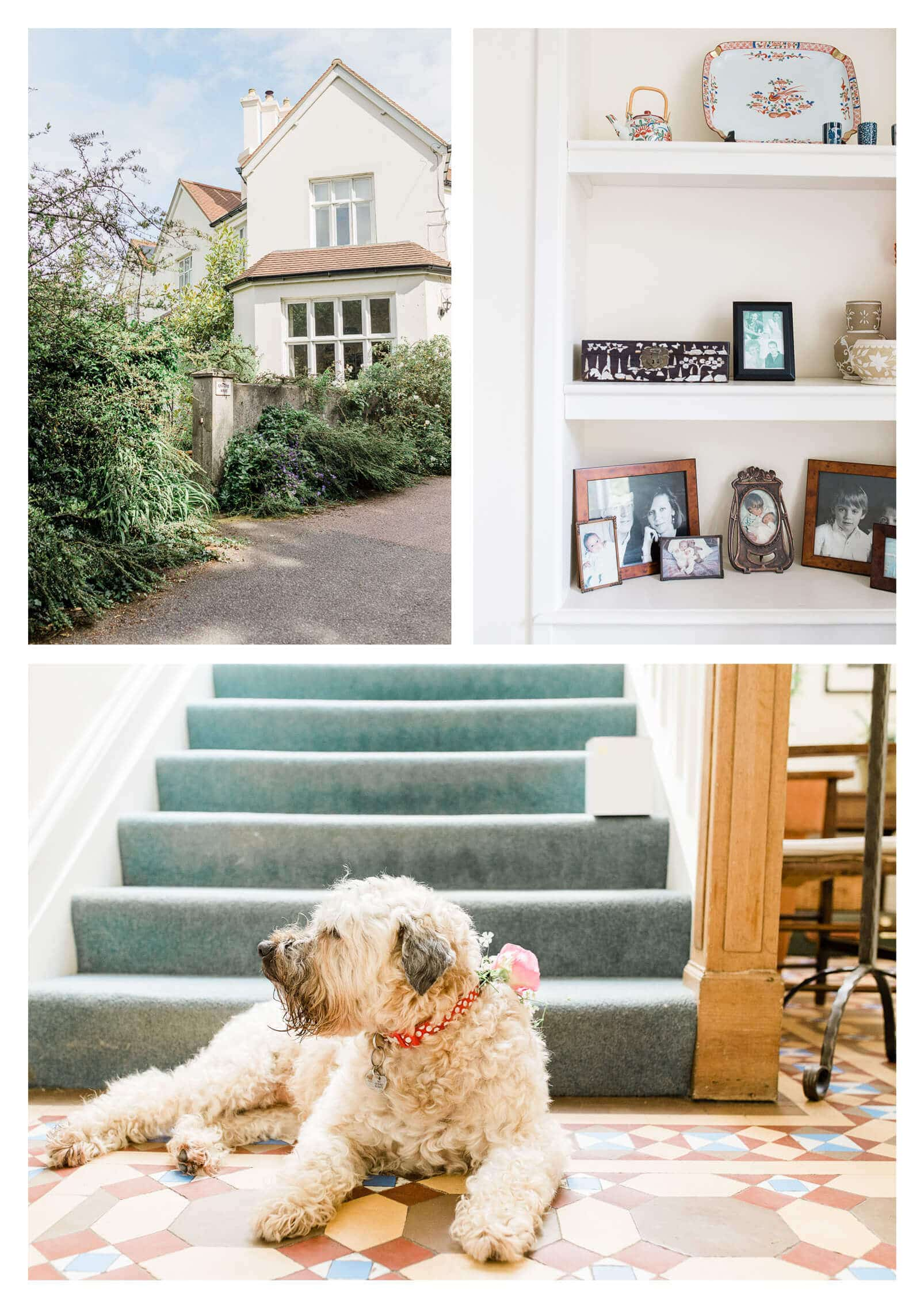 Groom getting ready at home in East Grinstead | West Sussex Wedding Photographer