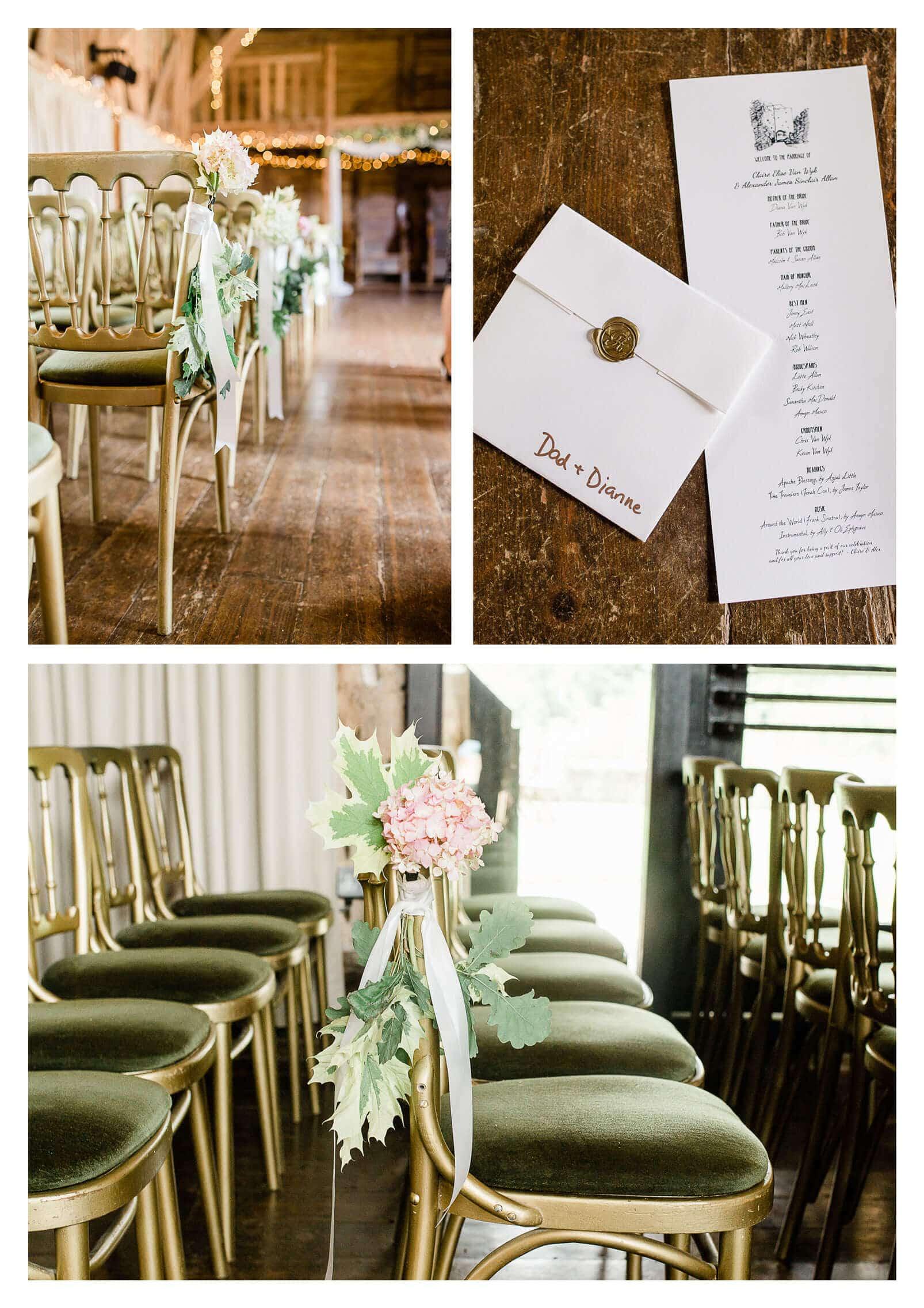 Michelham Priory wedding ceremony details in Hailsham | East Sussex Wedding Photographer