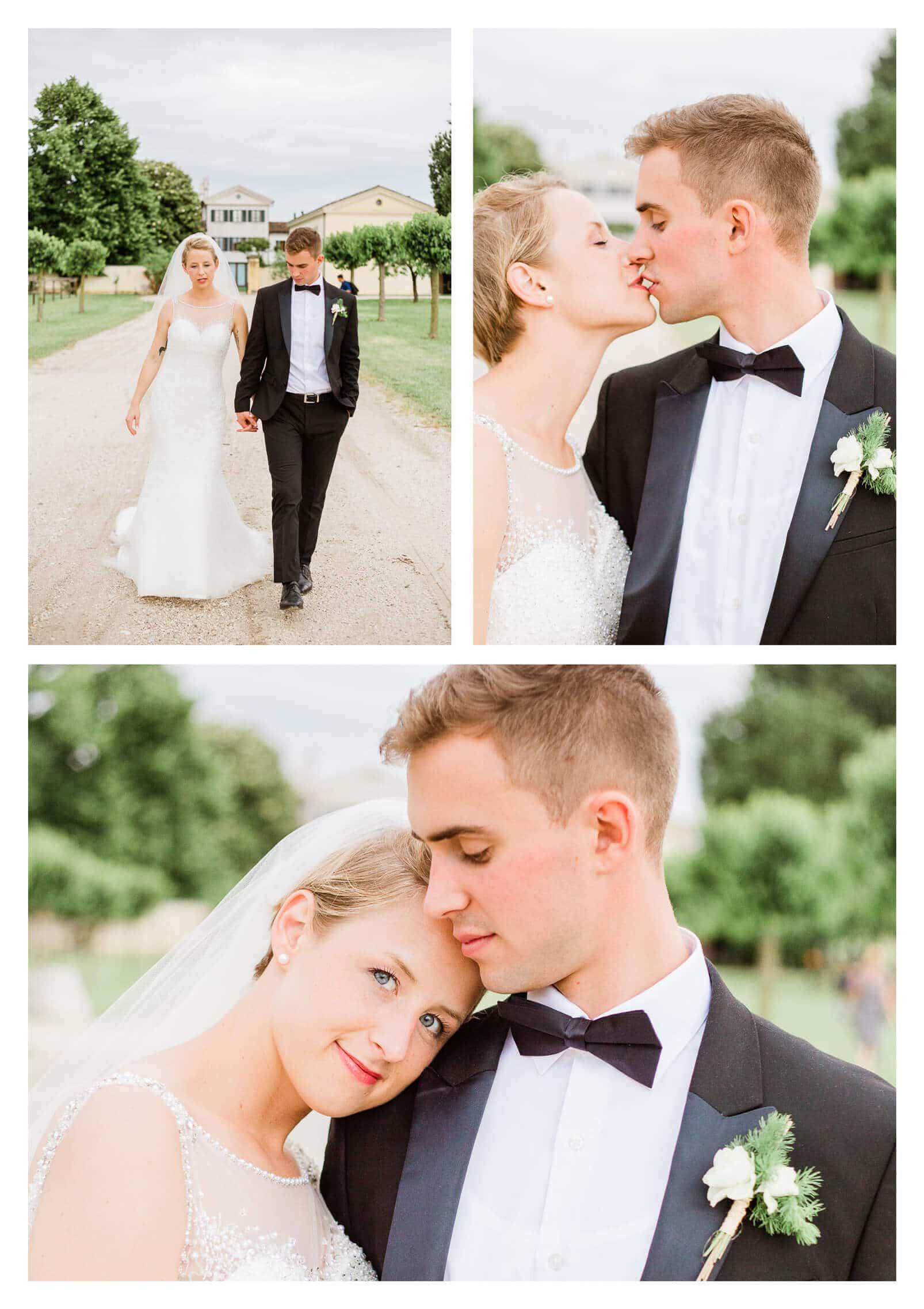 Relaxed wedding couple portraits | Destination photographer