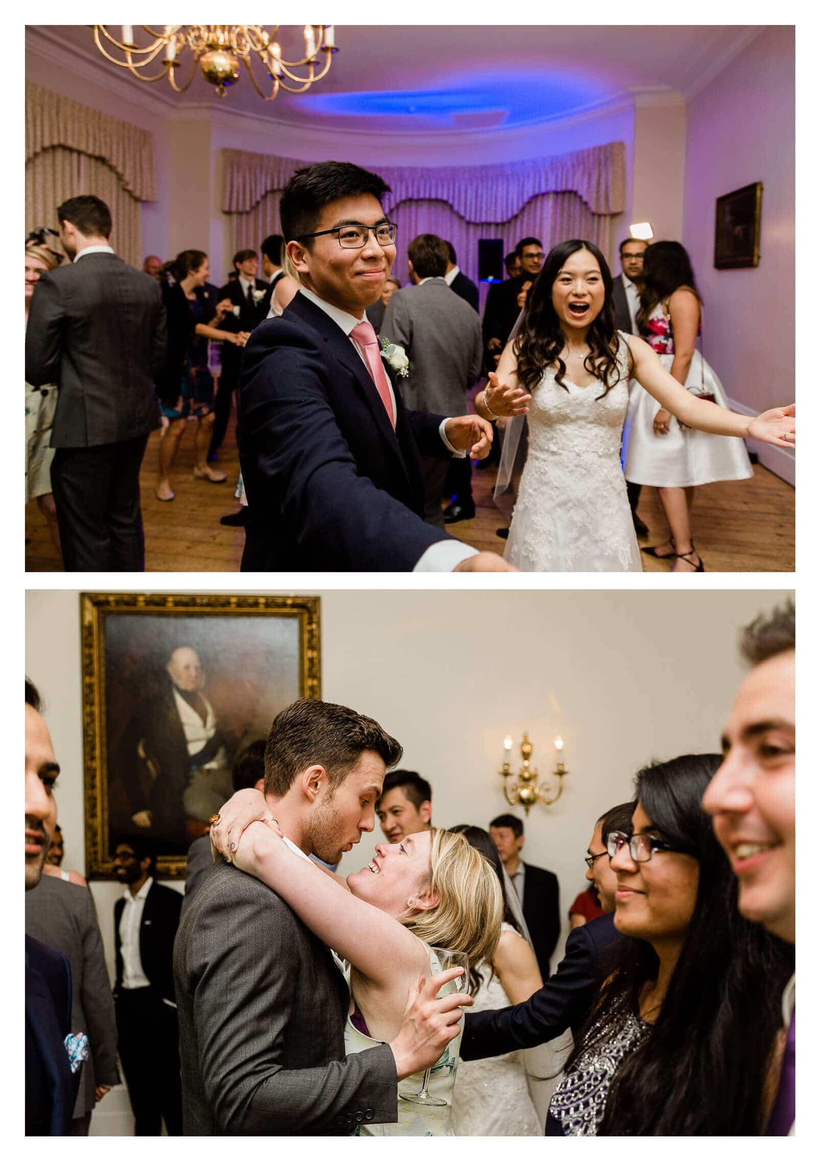 Cambridge Cottage wedding disco | Kew Gardens wedding photographer