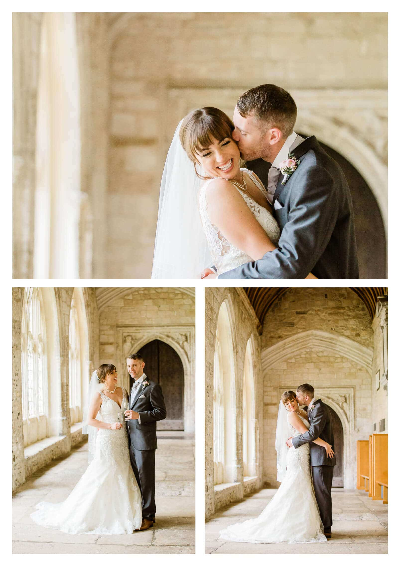 Chichester Cathedral wedding couple portraits | West Sussex photographer