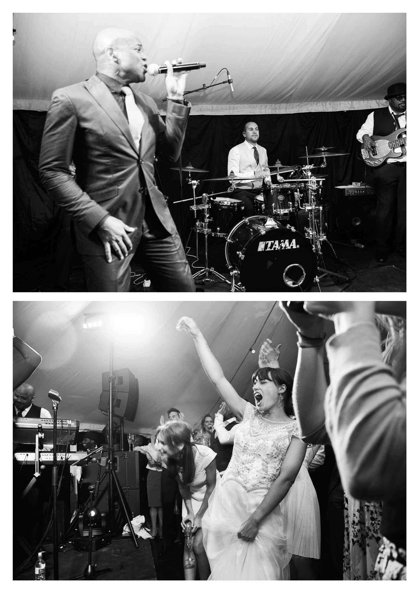 Midhurst marquee estate wedding reception | Midhurst wedding photographer