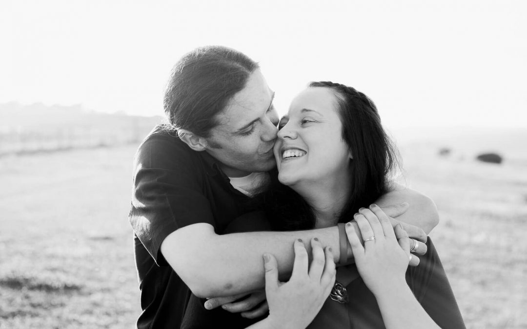 Newhaven engagement photography on the South Downs | Brighton photographer