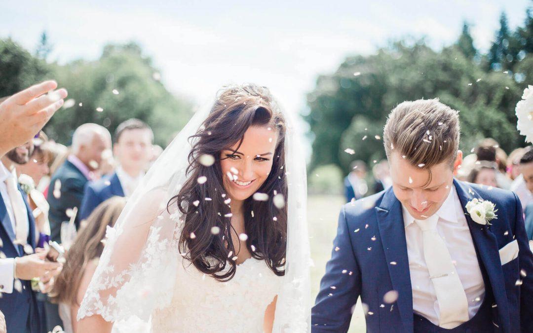 Outdoor manor ceremony at Rhinefield House Hotel Brighton Wedding Photographer