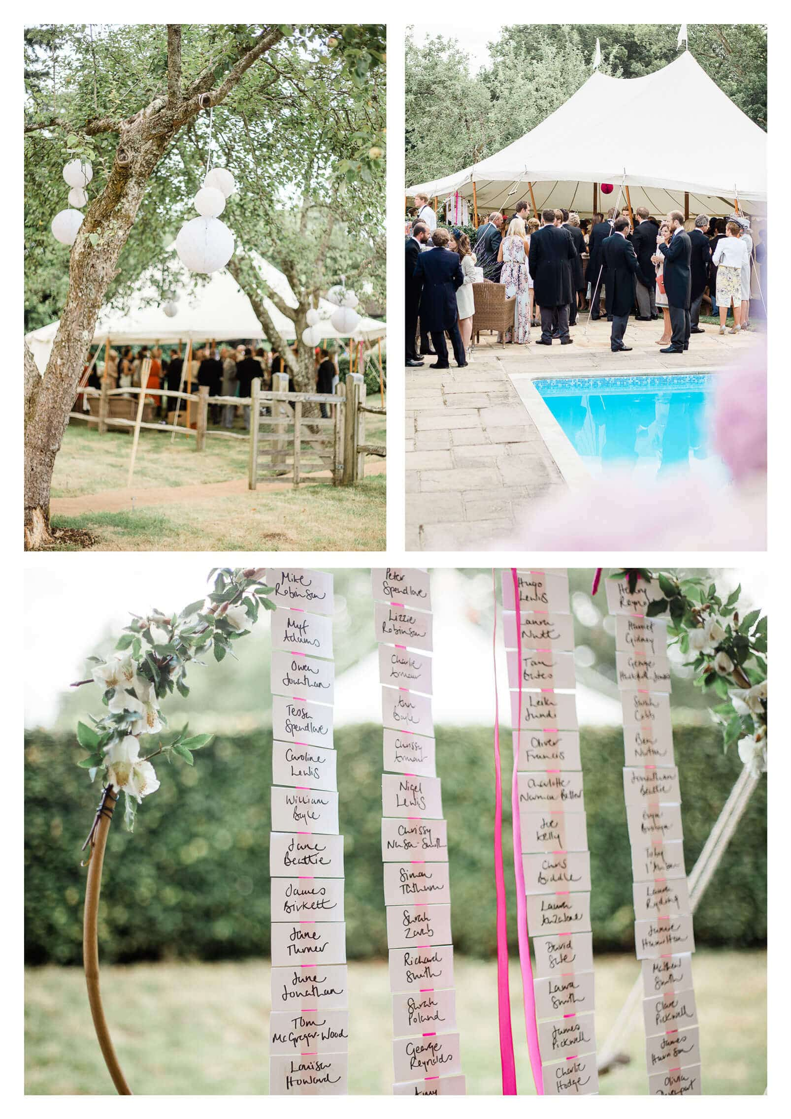 Private Midhurst marquee estate wedding in Woolbeding | West Sussex photographer
