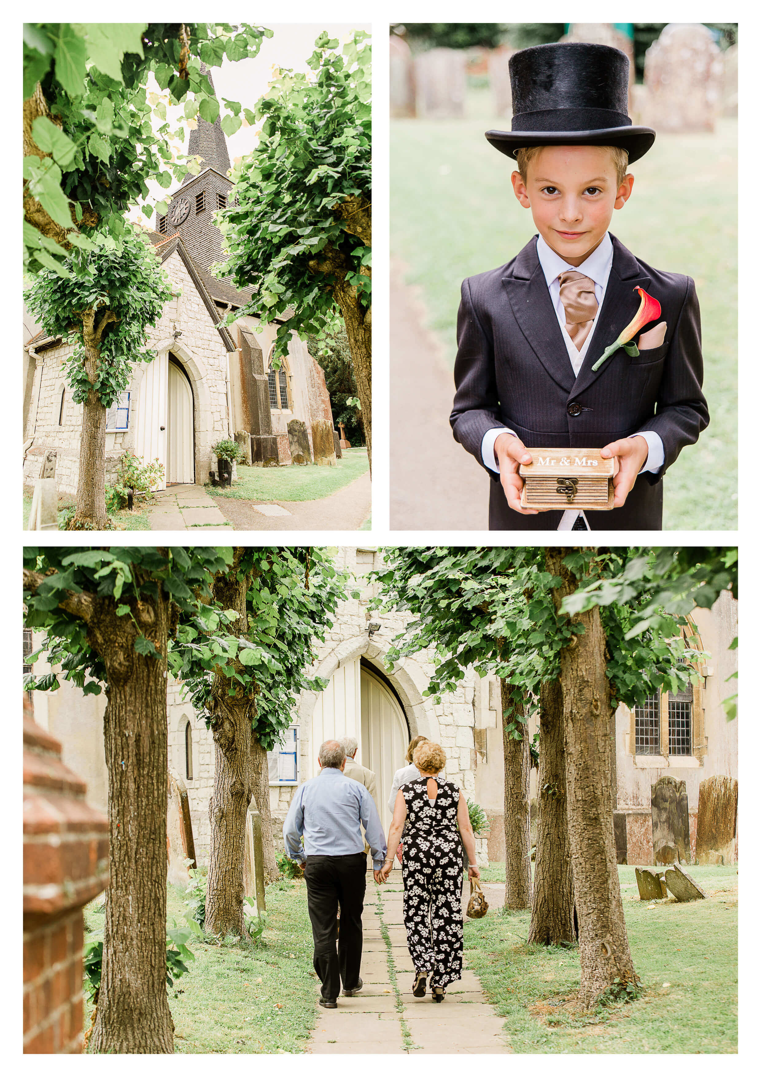 St Bartholomew's Church wedding in Surrey