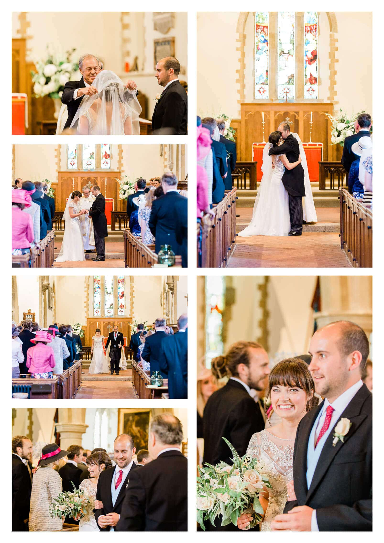 St James Church wedding ceremony in Stedham West Sussex Photographer