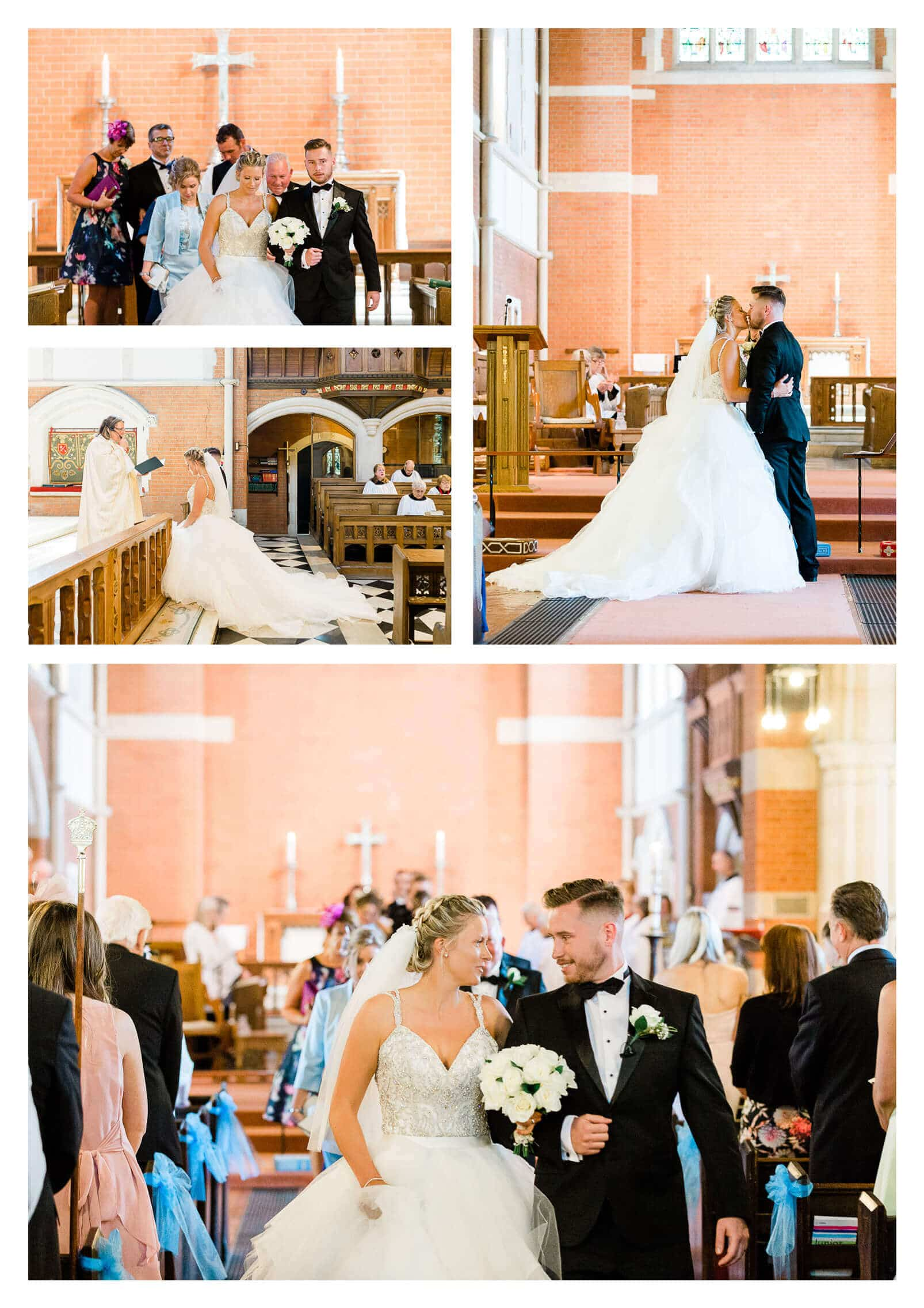 St Marks Church wedding ceremony in Purley | Croydon photographer