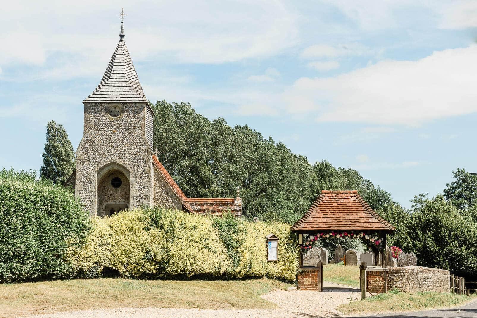 St Nicholas Parish Church in Chichester | West Sussex wedding photographer
