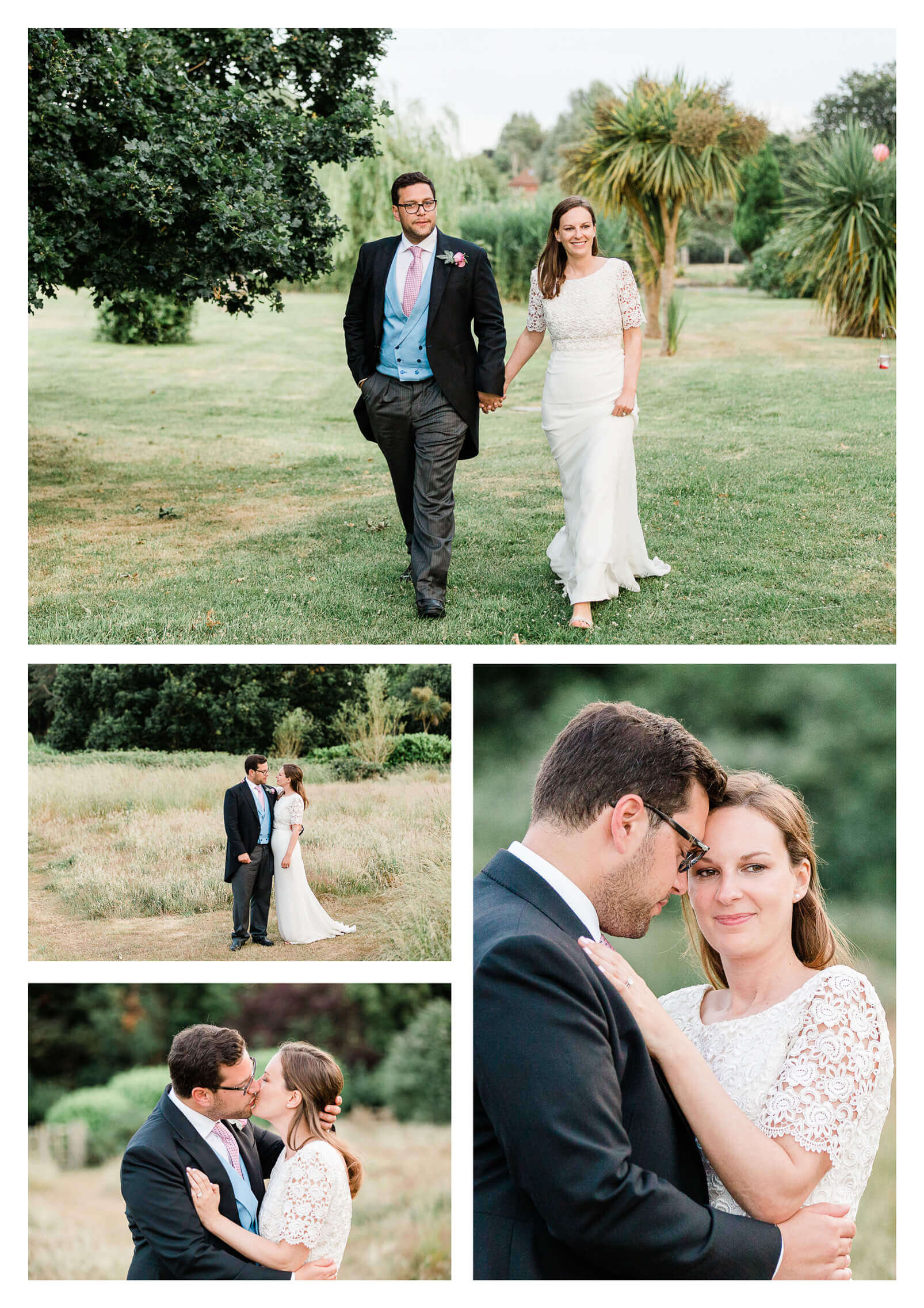 West Itchenor wedding photography | couple portraits at private estate