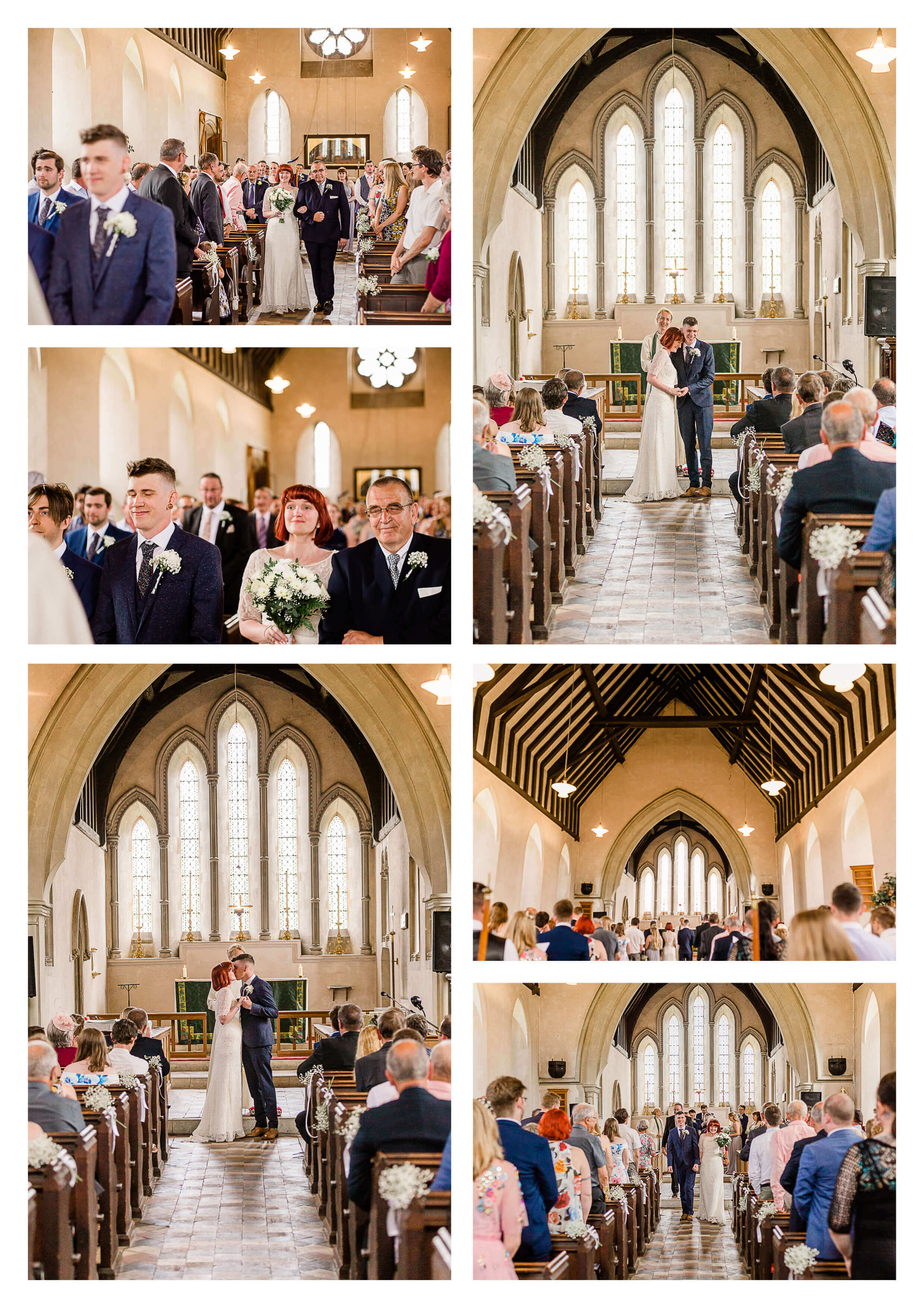St. Luke's Church wedding ceremony venue in Guildford | Surrey Wedding Photographer