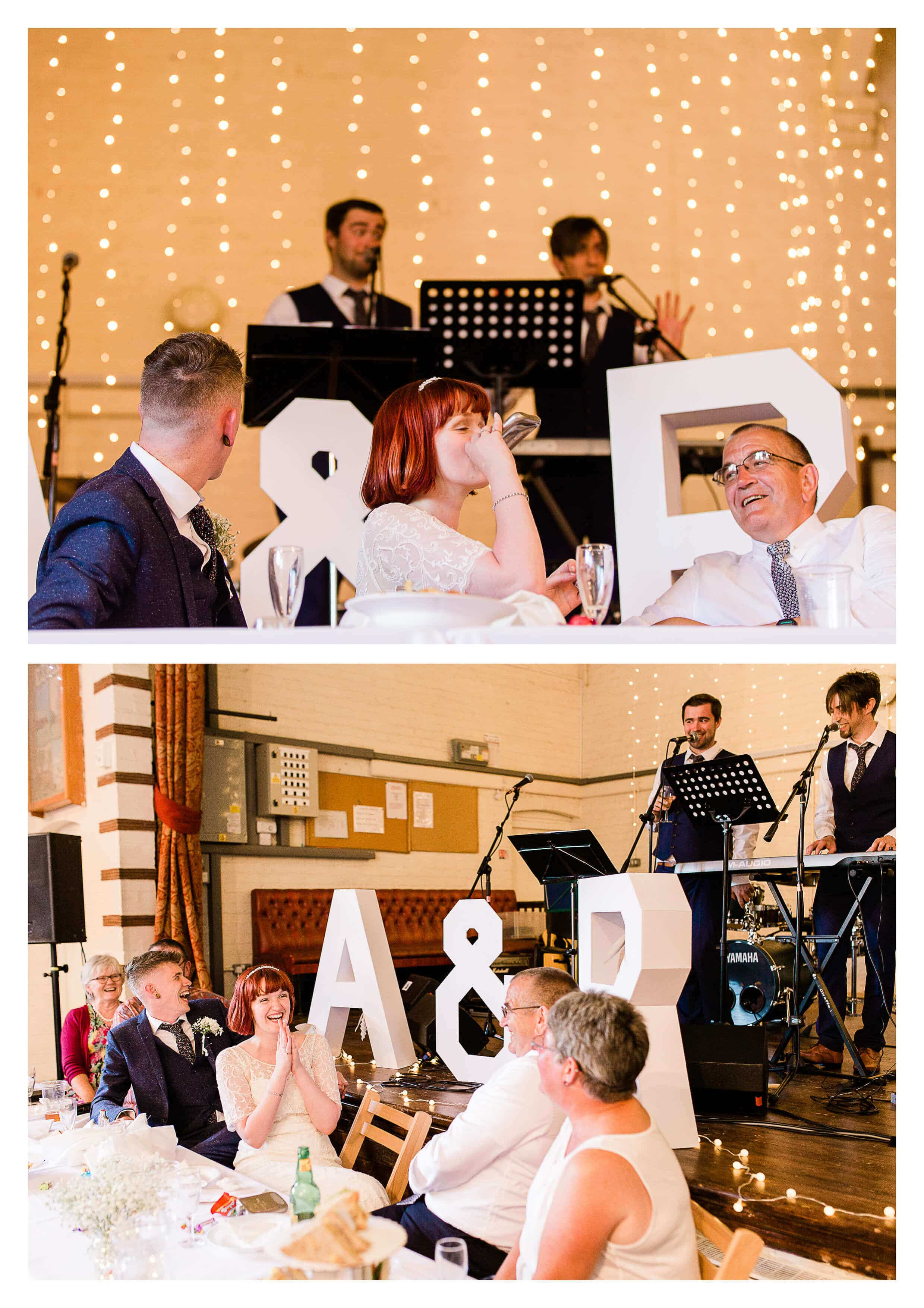 Toasts at Guildford Town Hall Wedding Venue | Surrey Photographer
