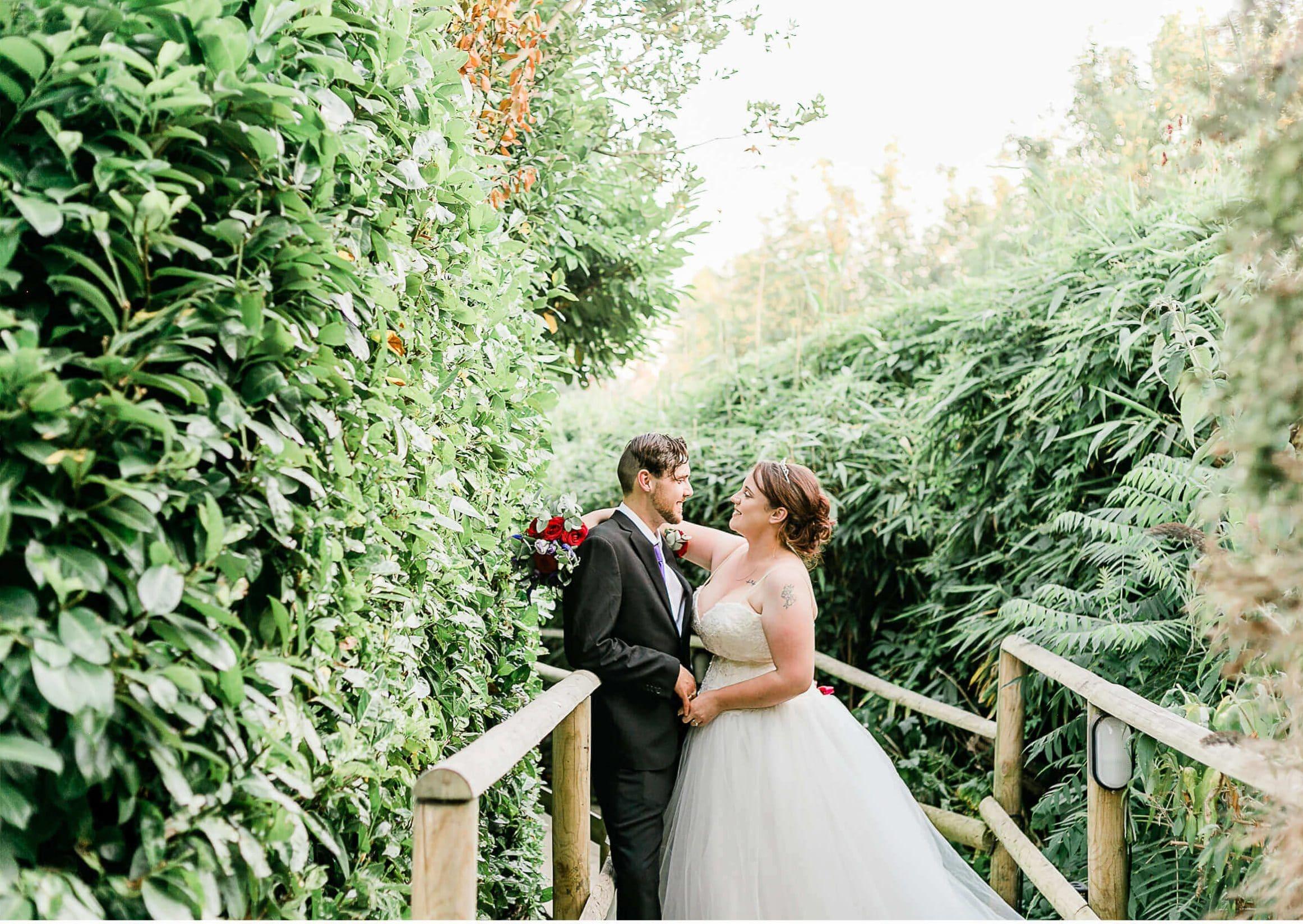 Pelham House Gardens Wedding Couple Portraits   Lewes Wedding Photographer