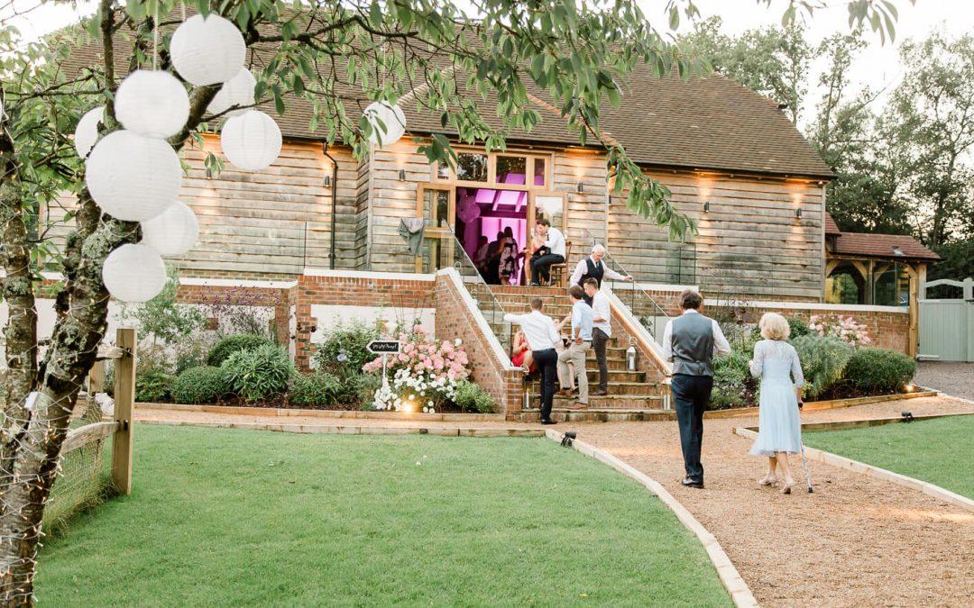 Barn wedding venues in Horsham | Brookfield Barn