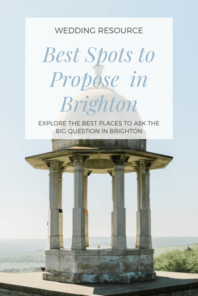 Best places to propose in Brighton