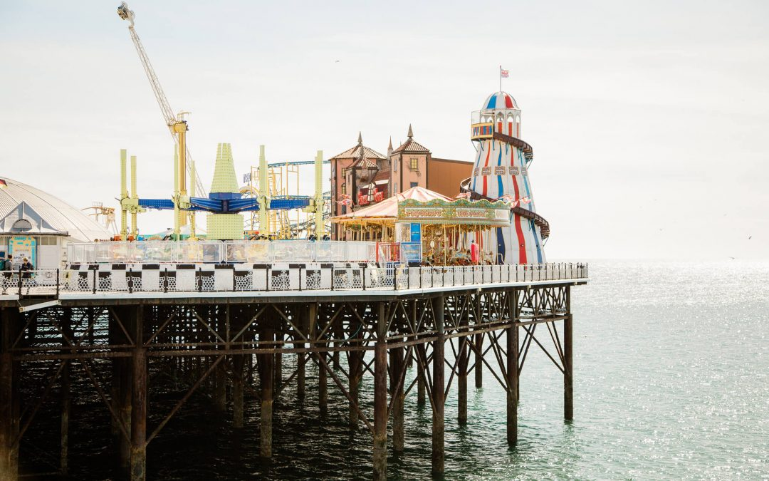 Brighton Pier engagement photography | Brighton engagement photographer