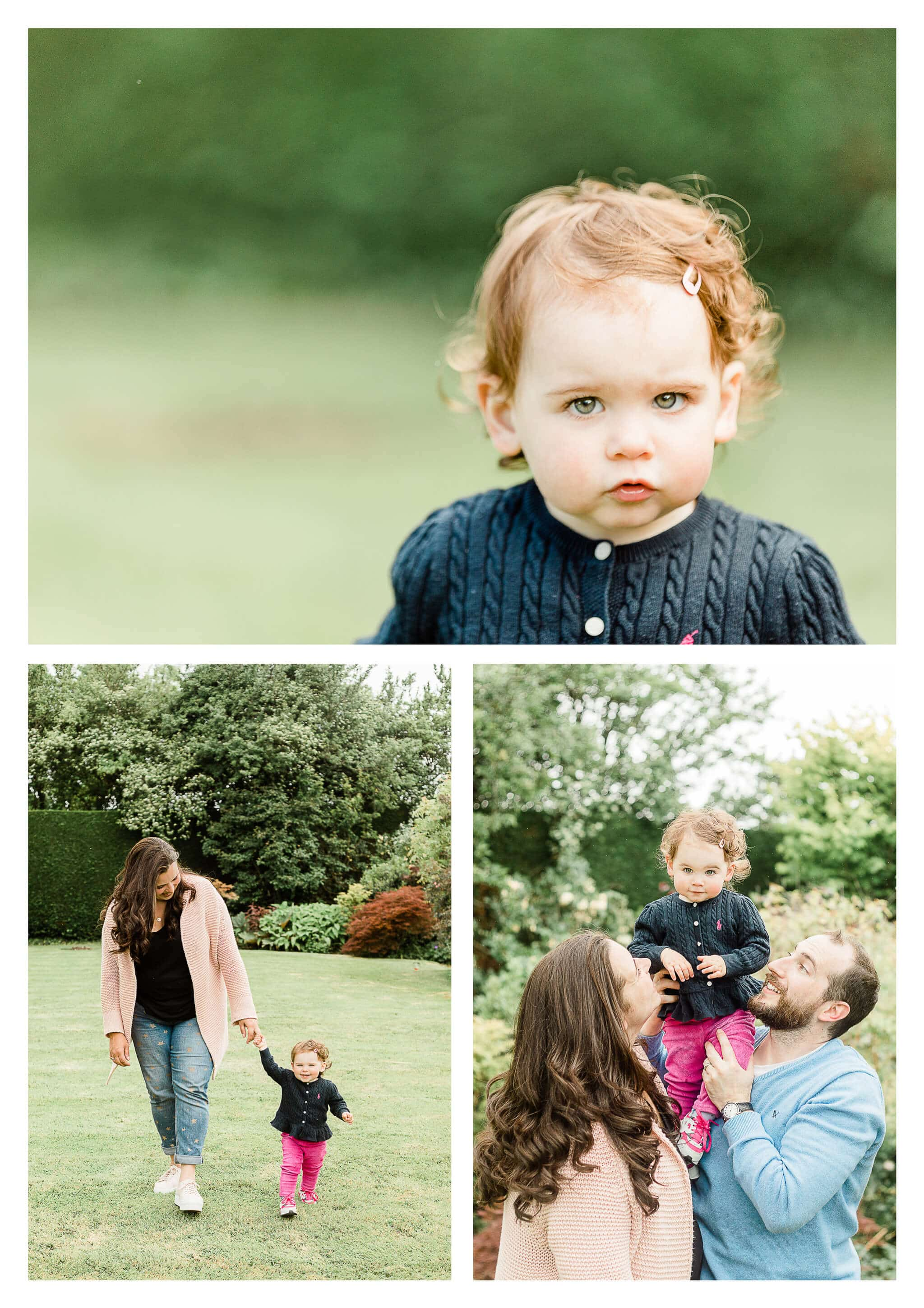 Family photographer in Haywards Heath for one year old birthday