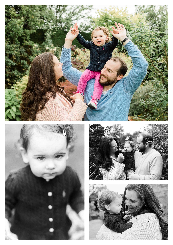 Haywards Heath family photography in back garden of family estate