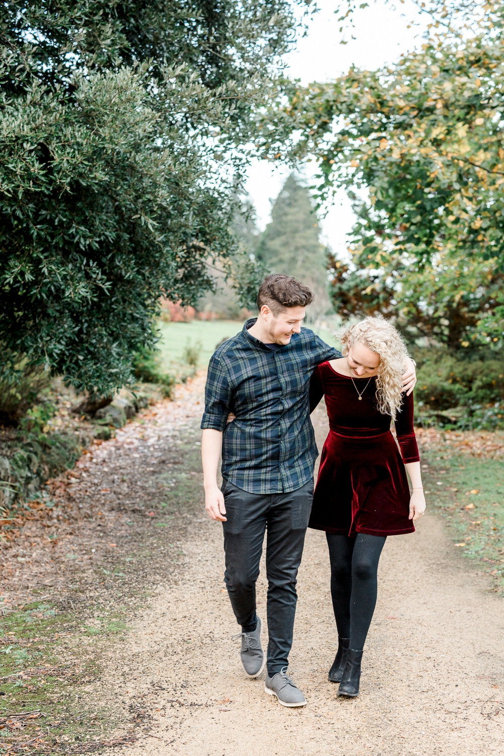 Buxted Park Hotel wedding venue engagement photography with Brighton wedding photographer