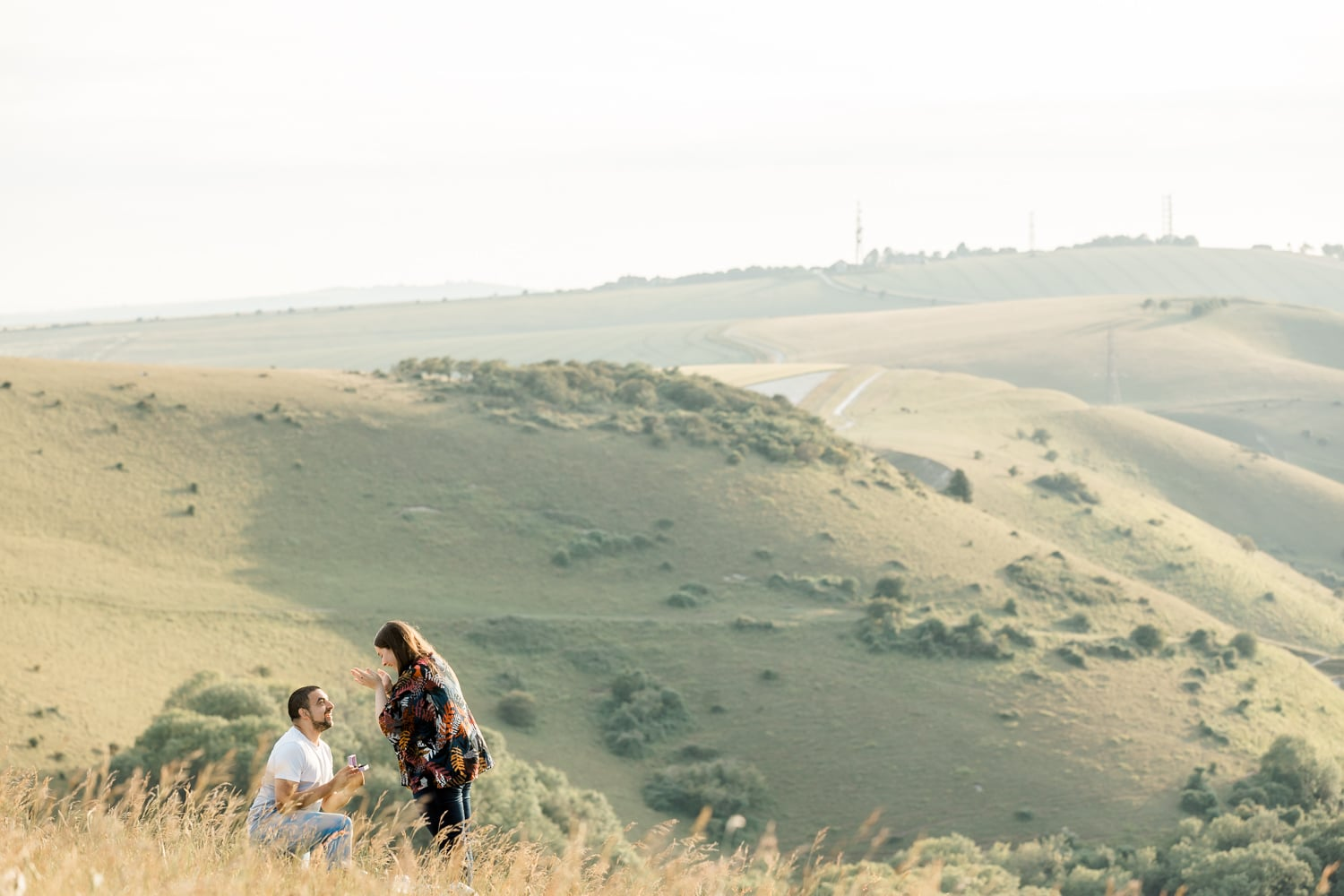 Devils Dyke proposal is one of the best places to propose in East Sussex