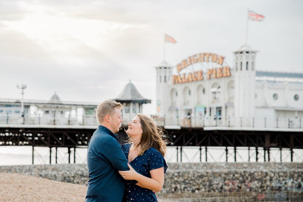 Best places to propose in Brighton in front of Brighton Palace Pier