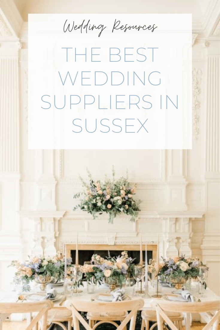 Preferred and recommended wedding suppliers in Sussex