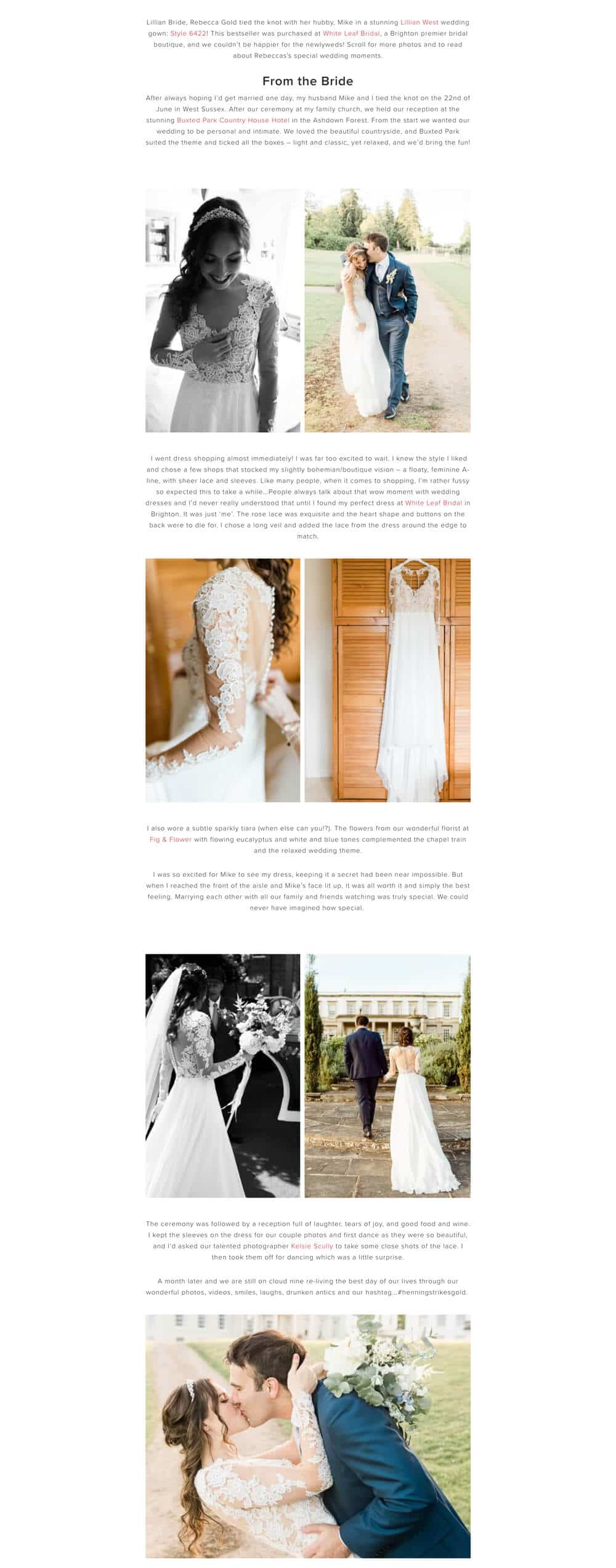 Buxted Park wedding photographer feature in Justin-Alexander