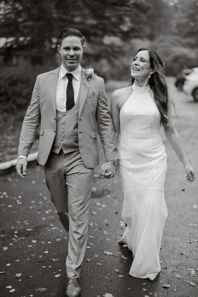 Couple photos at Brookfield Barn wedding venue with west sussex photographer