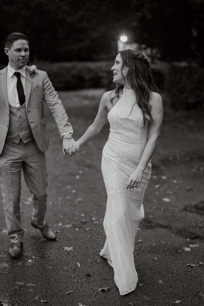 Couple portraits Brookfield Barn wedding photos with west sussex photographer