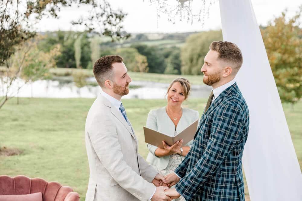 Greentree Estates wedding humanist ceremony