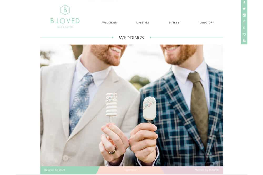 Greentrees Estate Wedding Photos Feature on B.LOVED